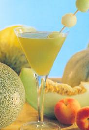 Merienda de verano: refresco de melón