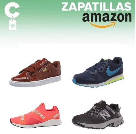Chollos en tallas sueltas de  zapatillas Nike, New Balance o Puma en Amazon por menos de 30 euros