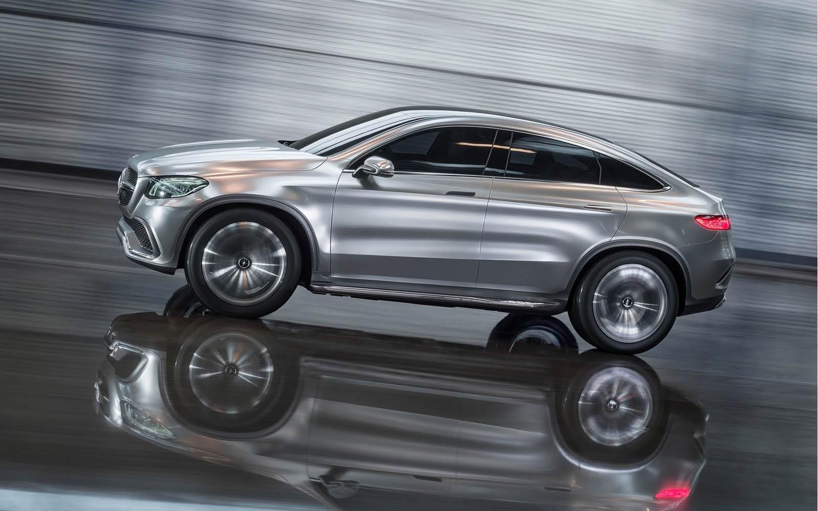 Foto de Mercedes-Benz Coupé SUV Concept (8/30)