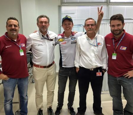 Tito Rabat podrá correr en Valencia, una última oportunidad de resarcirse antes de saltar a MotoGP