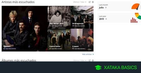 Cómo tener estadísticas de toda la música que escuchas, tanto en streaming como local en el PC