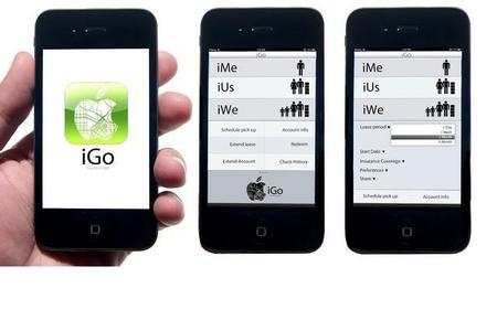 Así podría ser el coche del futuro: Apple iGo Concept