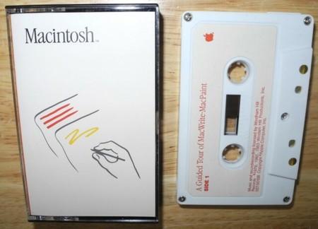 Las cintas de cassette que te enseñaban a usar MacWrite y MacPaint