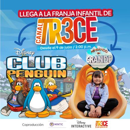 Disney Interactive co-produce serie de televisión infantil con el Canal TR3CE