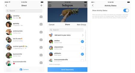 Instagram empieza a mostrarte cuándo tus amigos están online de forma más simple