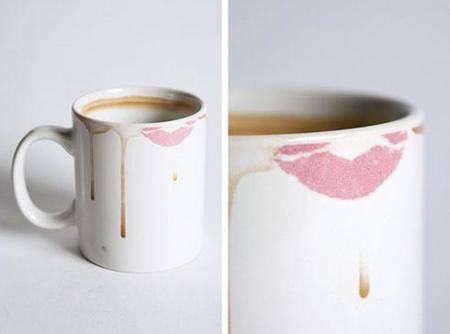 La taza manchada