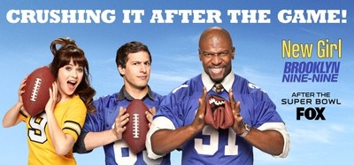 [Actualizado] Super Bowl 2014: La emisión más vista de la historia; 'New Girl' impresiona y 'Brooklyn Nine-Nine' aceptable