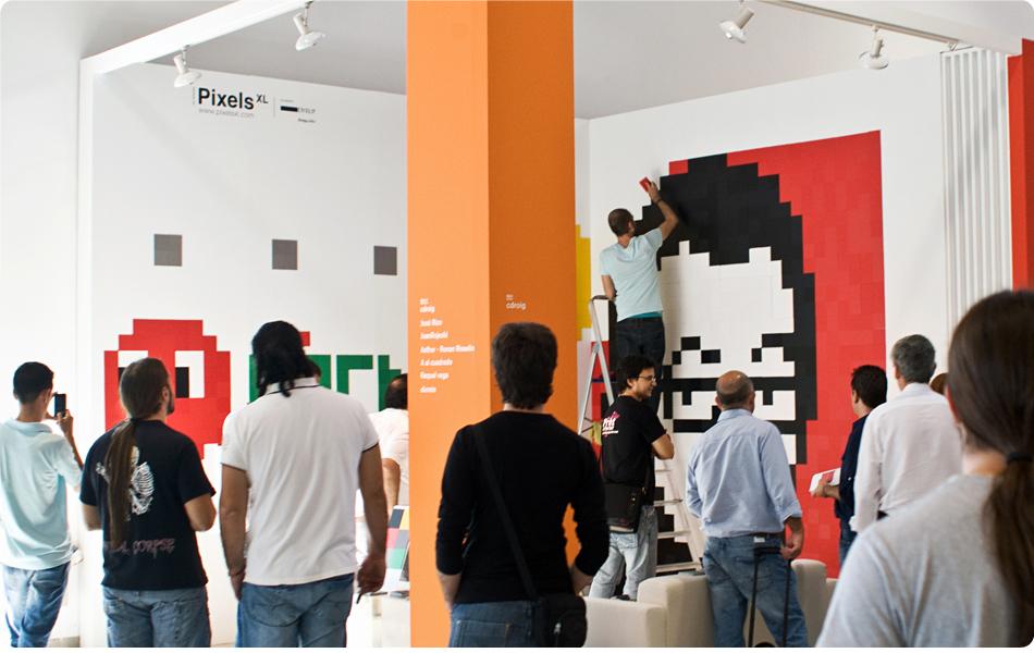Foto de Feria Hábitat Valencia 2010: haz de tu pared un cuadro con Pixels XL (6/7)