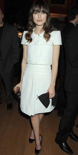 El look de la semana 2-8 de marzo: Keira Knightley