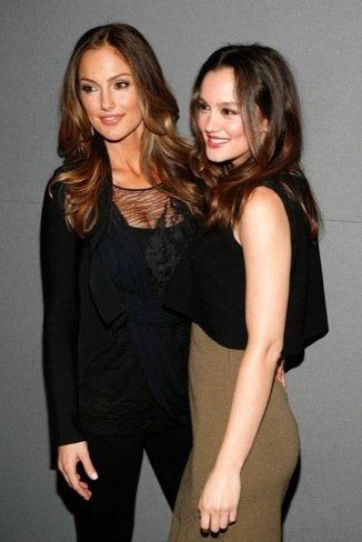 Mila Kunis y Leighton Meester