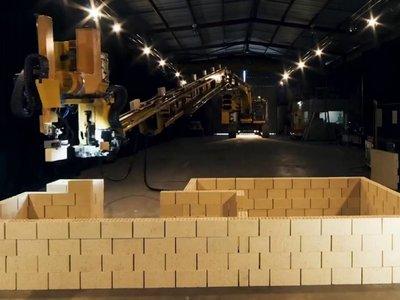 Ojo, albañiles: este impresionante robot es capaz de crear una casa en sólo dos días