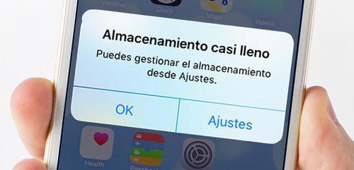 Cómo liberar espacio de almacenamiento en un móvil iOS o Android
