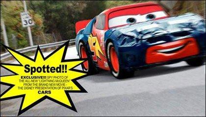 ¡Fotos espías de Cars, lo último de Pixar!