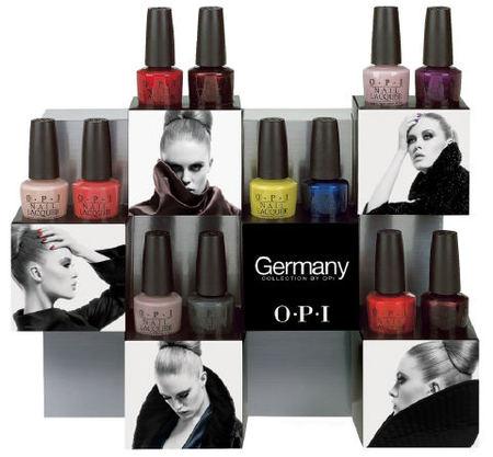 OPI presenta sus tendencias de otoño: Colección Alemania