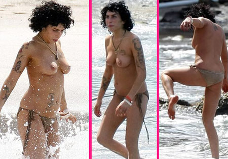 Amy Winehouse tetas falsas