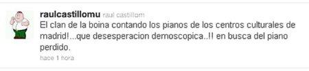 El director de Medios de Comunicación de Gallardón pierde el talante en twitter
