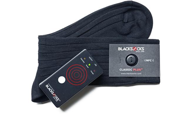 Complementos tontos para el hogar inteligente: calcetines con sensores NFC incorporados para localizarlos rápidamente