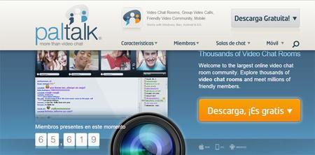 PalTalk ofrecerá videochats múltiples para redes sociales