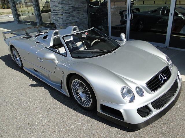 2002 Mercedes-Benz CLK GTR Roadster #3