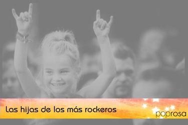 Famosas guapas, ricas... e hijas del rock (I)