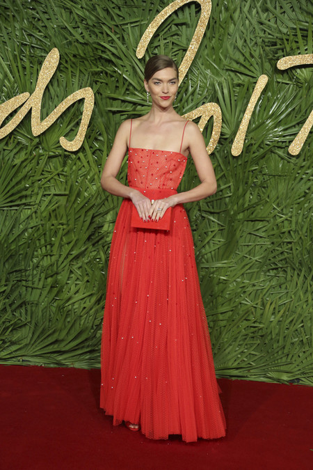british fashion awards alfombra roja Arizona Muse