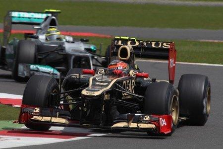 Romain Grosjean perderá cinco posiciones en Alemania