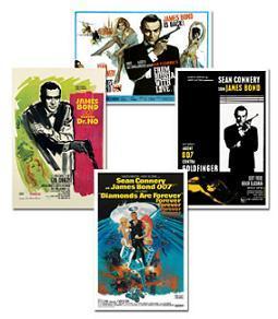 James Bond, todos los posters de sus películas