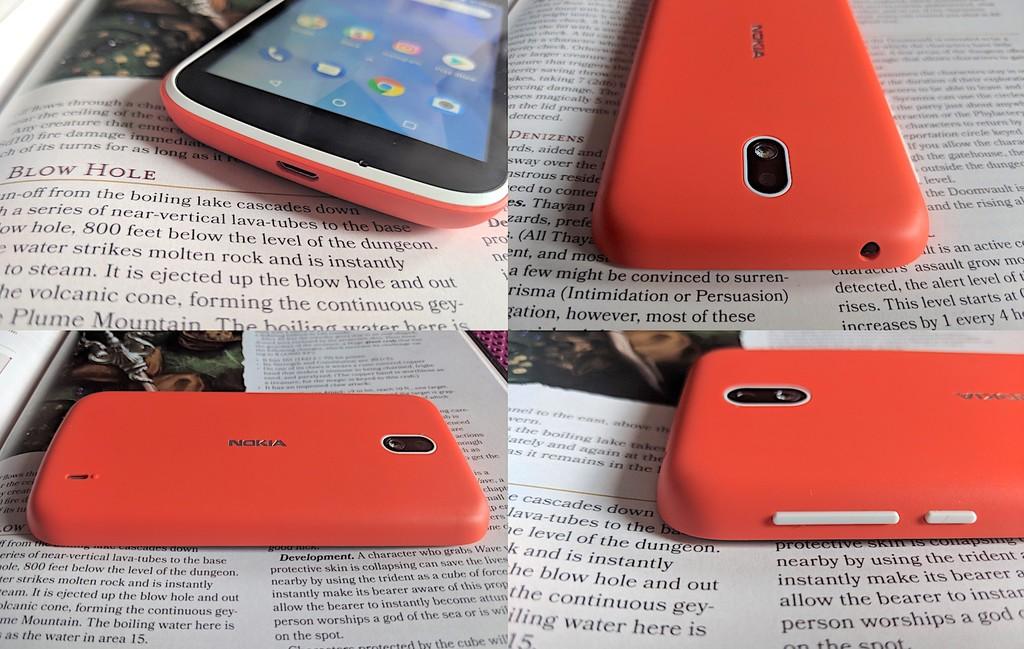 Diseno Nokia™ uno Partes