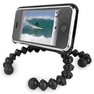 Gorillacam, aumenta las posibilidades fotográficas del iPhone con este soporte y aplicación