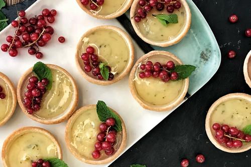 Tartaletas de mojito, la receta más refrescante para rematar una comida o cena copiosa (vídeo incluido)