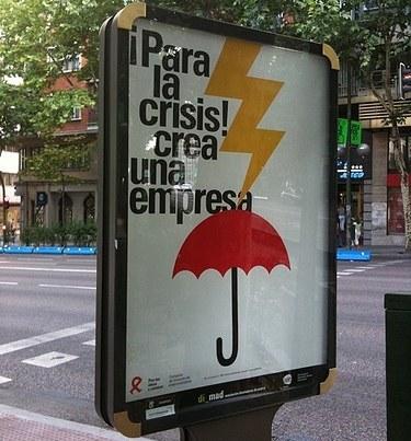 """""""Para la crisis crea una empresa"""": con dos..... razones"""
