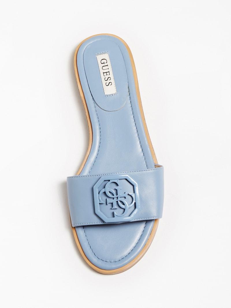 Sandalia pala de piel