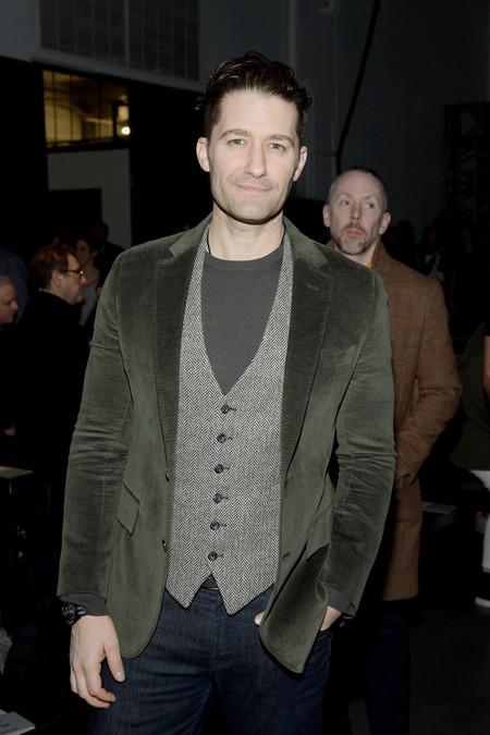 Matthew Morrison Y Darren Criss Arman Mini Reencuentro De Glee En El Desfile De Tod Snyder En Nyfw 3