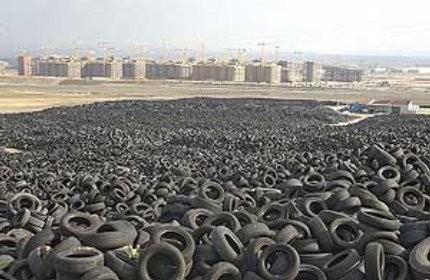Murcia recicla neumáticos para producir asfalto