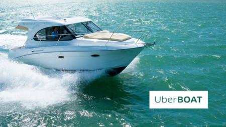 El último servicio de Uber conecta dos continentes en lancha: UberBOAT