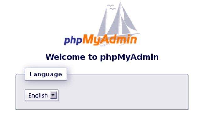 phpmyadmin 3.4