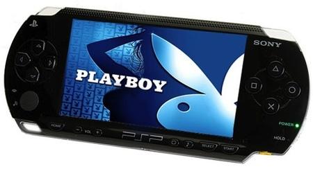 Playboy en la PSP