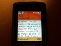 Yoigo celebra los 100.000 clientes con SMS gratis el 29 de Marzo