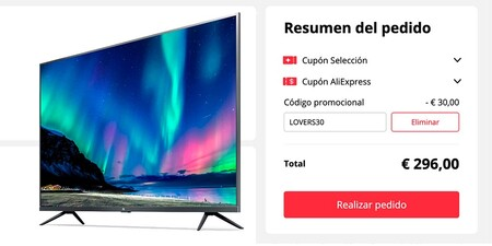 Xiaomi Xiaomi Mi Tv 4s Cupon