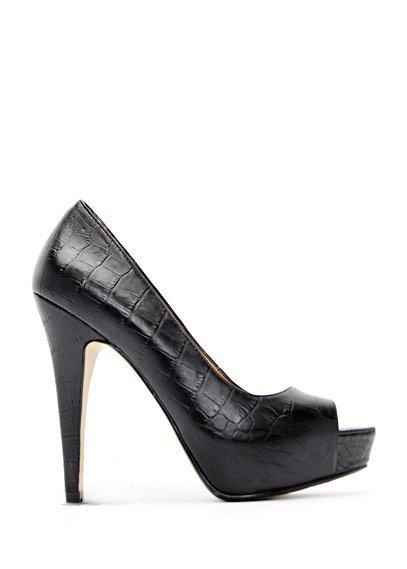 zapato negro mango