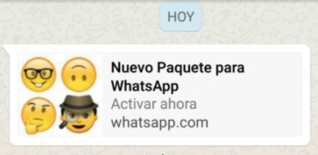 Nuevo Paquete para WhatsApp