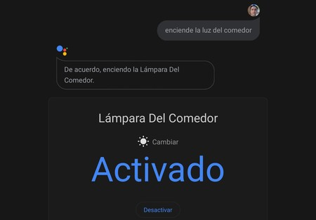 Google Assistant Domótica