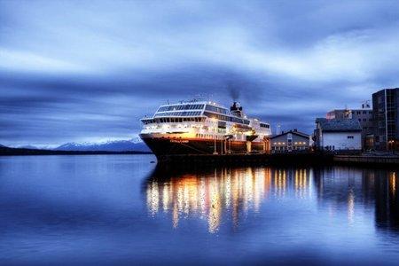 Sigue minuto a minuto la travesía del Hurtigruten por los fiordos Noruegos