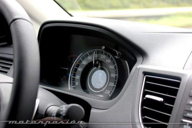 Honda CR-V, velocímetro