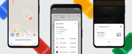 Comprar entradas de cine con Google Assistant