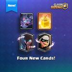 Las nuevas cartas de Clash Royale filtradas en vídeo: Bandida, Bruja, Curación y Murciélagos en acción