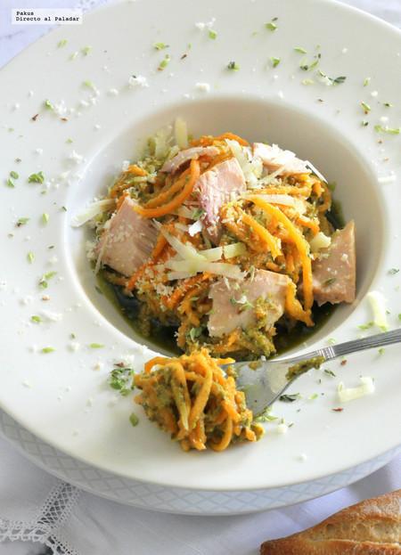 Siete recetas de zoodles para sumar verduras a tu dieta