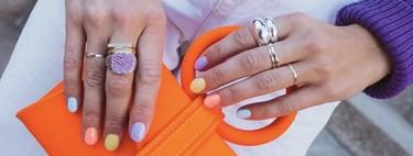 La manicura multicolor sigue siendo la favorita y estas siete propuestas nos lo demuestran