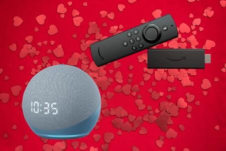 Fire TV Stick de oferta desde 24 euros en Amazon por San Valentín y más precios de escándalo en altavoces Echo y Kindle Paperwhite
