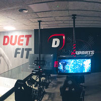 Abre en Barcelona un gimnasio con PlayStations: haz ejercicio mientras juegas al FIFA